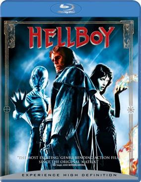Hellboy - Blu-ray cover