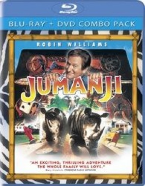 Jumanji - Blu-ray cover
