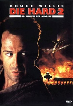 Die Hard 2 - Laser Disc cover