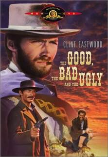 The Good, the Bad and the Ugly - Laser Disc cover
