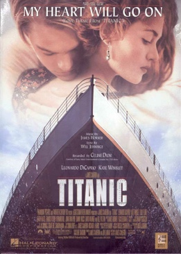 Titanic - VHS cover