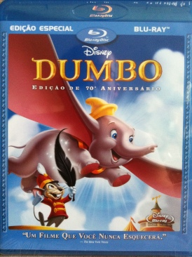 Dumbo - Blu-ray cover