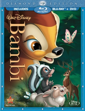 Bambi - Blu-ray cover