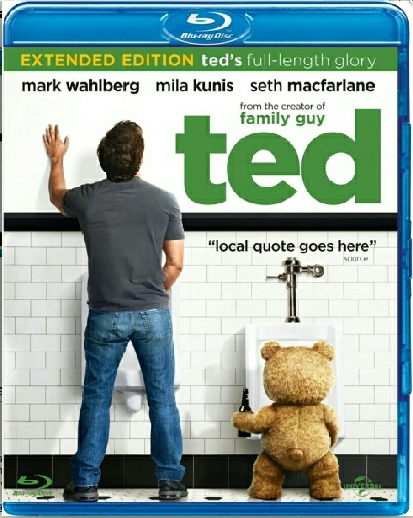 Ted - DVD cover