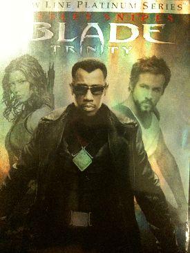 Blade: Trinity - UMD cover