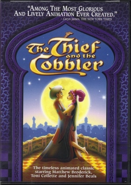 Arabian Knight (The Thief and the Cobbler) - DVD cover