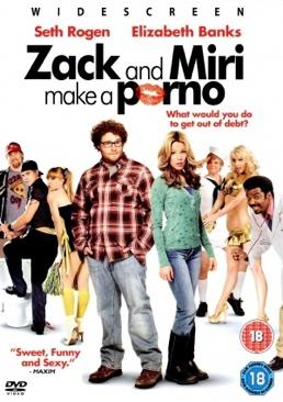 Kevin Smith - Zack and Miri Make a Porno - DVD cover