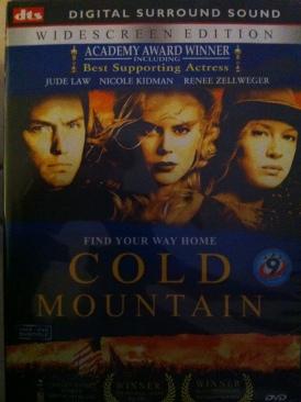 Cold Mountain - DVD cover