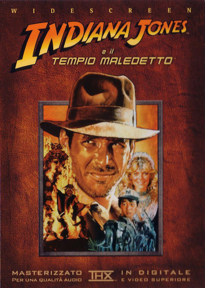 Indiana Jones E Il Tempio Maledetto -  cover