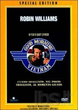 Good Morning Vietnam - DVD cover