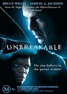 Unbreakable - DVD cover