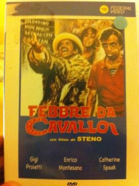 Febbre da Cavallo - DVD cover