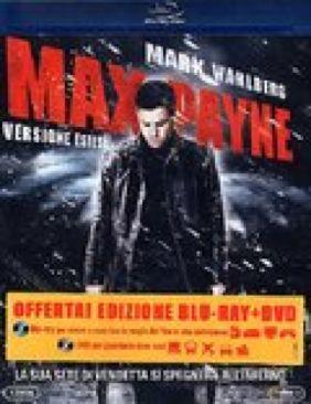 Max Payne - Blu-ray cover