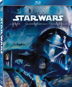 Star Wars Trilogy - Blu-ray cover