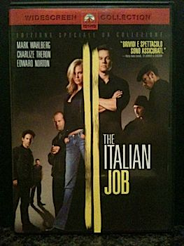 The Italian Job - DVD cover