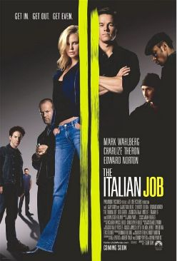 The Italian Job - Burn Copy  - DVD cover
