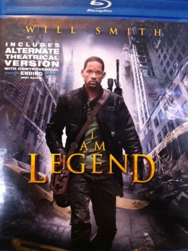 I Am Legend - DVD cover