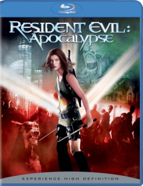 Resident Evil: Apocalypse - Blu-ray cover