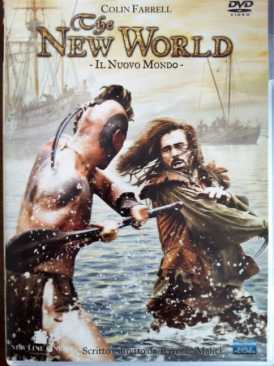 The New World - DVD cover