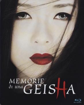 Memoirs of a Geisha - Blu-ray cover