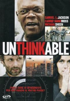 Unthinkable - DVD cover