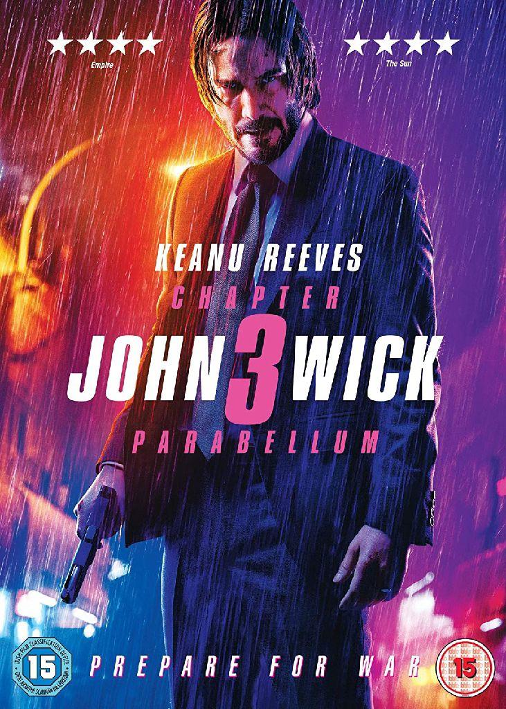 John Wick 3 Parabellum (4K) iTunes UK -  cover