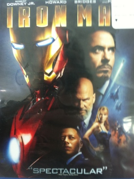 Iron Man - Blu-ray cover