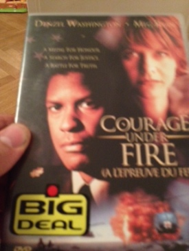 Courage Under Fire - DVD cover