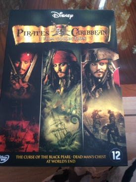 Pirates of the Caribbean Trilogy - DVD cover