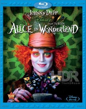 Alice in Wonderland - DVD cover