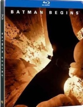 Batman 1: Batman Begins - Blu-ray cover