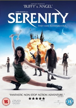 Serenity - UMD cover