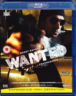 Wanted - Blu-ray cover
