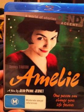 Amélie - Blu-ray cover