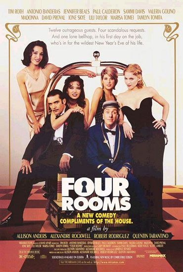 Four Rooms - Blu-ray cover