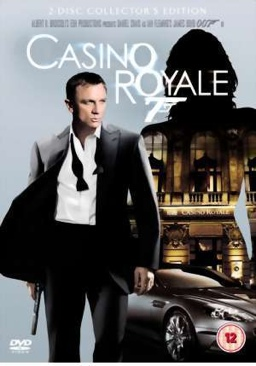 Casino Royale - Blu-ray cover
