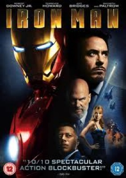 Iron Man - DVD cover