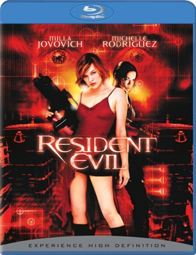Resident Evil - Blu-ray cover