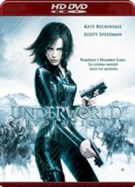 Underworld: Evolution - HD DVD cover
