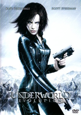 Underworld 4: Evolution - DVD cover