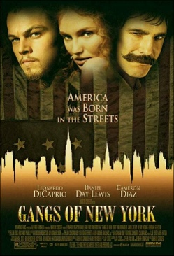 Gangs of New York - VHS cover