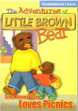 The Adventures Of Little Brown Bear - DVD cover
