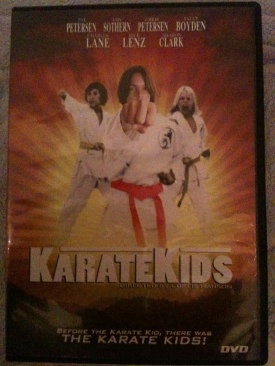 Karate Kids - DVD cover