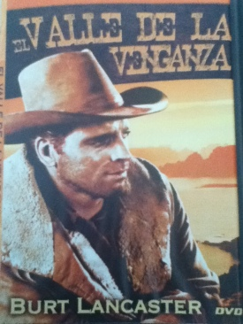 El Valle de la Venganza - DVD cover