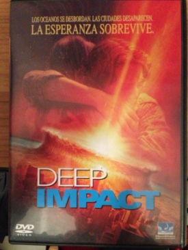 Deep Impact - DVD cover