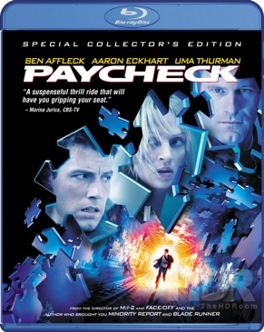 Paycheck - Blu-ray cover