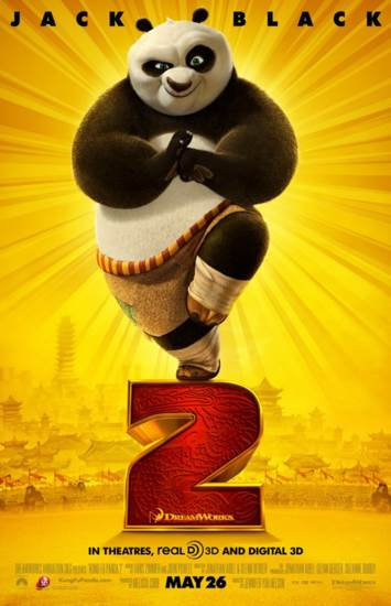 Kung Fu Panda 2 - Laser Disc cover