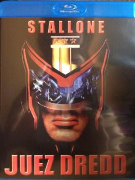 Juez Dredd - Blu-ray cover