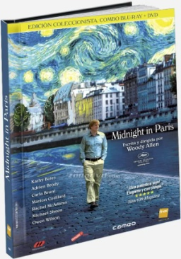 Midnight In Paris - Blu-ray cover