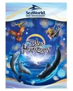 RARE SeaWorld Blue HorizonsVIDEOtheatrical show. -  cover